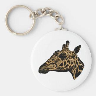 Llavero Logotipo de la jirafa