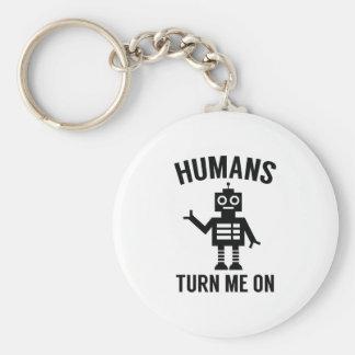 Llavero Los seres humanos me giran