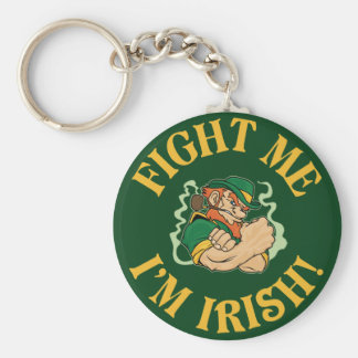 Llavero Lúcheme que soy irlandés - el día de San Patricio