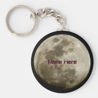 Llavero Luna brillante