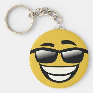Llavero Malo al individuo fresco Emoji del hueso