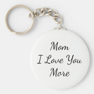 Llavero Mamá te amo más