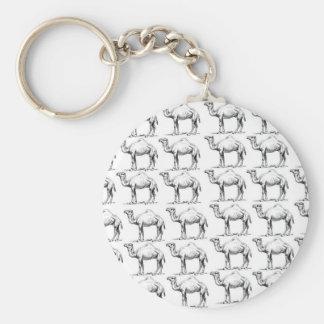 Llavero manojo de manada de los camellos