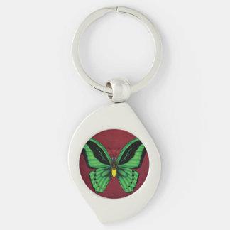 Llavero Mariposa de Birdwing de los mojones