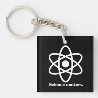 Llavero Materias de la ciencia - símbolo de la ciencia - -