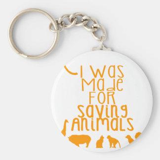 Llavero Me hicieron para los animales de ahorro
