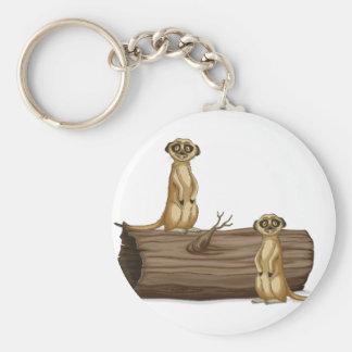 Llavero Meerkats