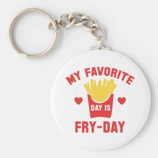 Llavero Mi día preferido es Fritada-Día