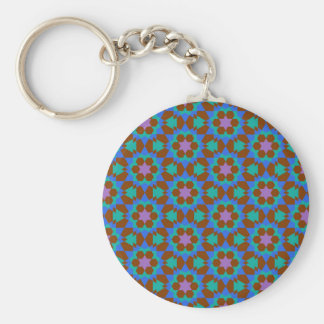 Llavero modelo geométrico islámico