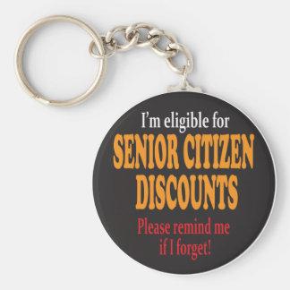 Llavero Momentos del descuento del jubilado