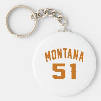 Llavero Montana 51 diseños del cumpleaños