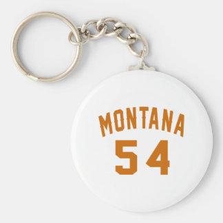 Llavero Montana 54 diseños del cumpleaños