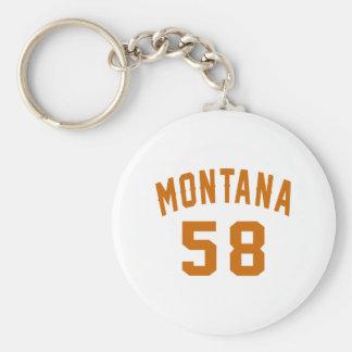 Llavero Montana 58 diseños del cumpleaños