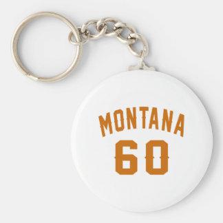 Llavero Montana 60 diseños del cumpleaños