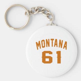 Llavero Montana 61 diseños del cumpleaños
