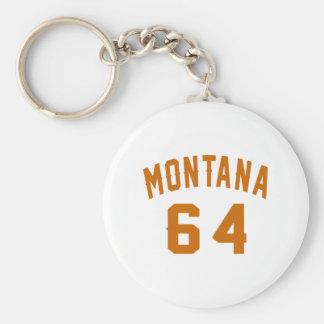 Llavero Montana 64 diseños del cumpleaños