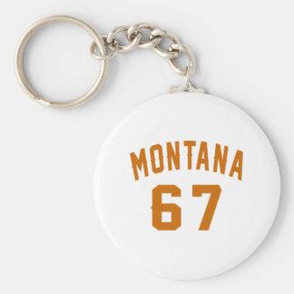 Llavero Montana 67 diseños del cumpleaños