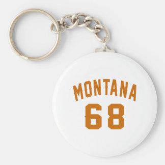 Llavero Montana 68 diseños del cumpleaños