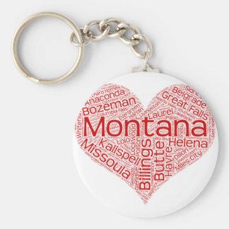 Llavero Montana-corazón