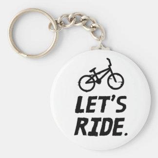 Llavero Montemos el humor del ciclista de la ciudad y de