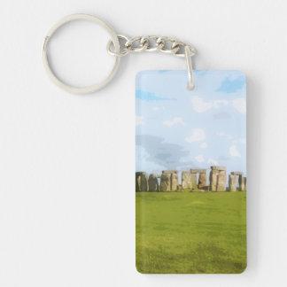 Llavero Monumento de piedra del círculo de Stonehenge