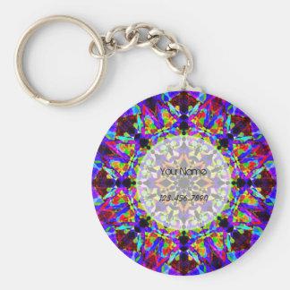 Llavero Mosaico colorido