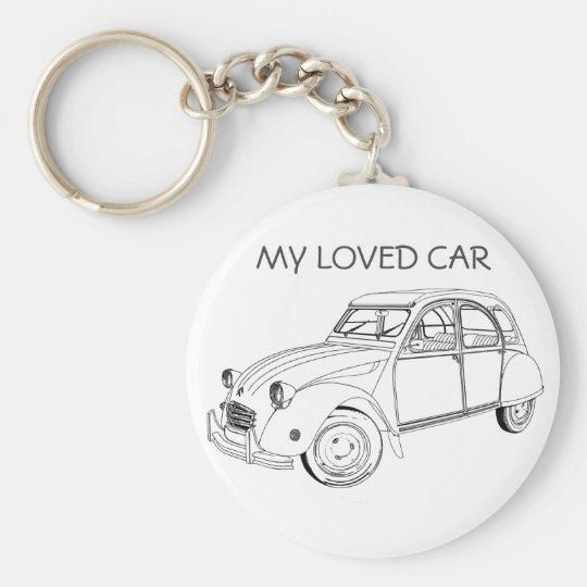 Llavero My loved car: Citroën 2 CV