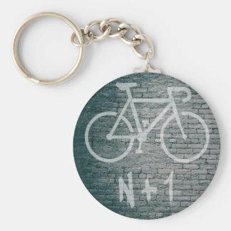 Llavero N+1 pintada de la bici