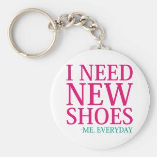 Llavero Necesito los nuevos zapatos