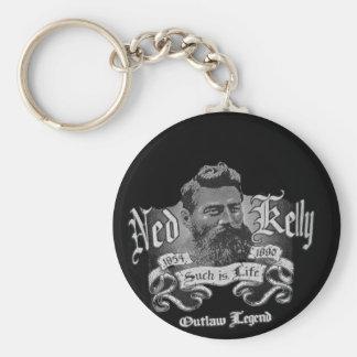 Llavero Ned Kelly - una leyenda australiana