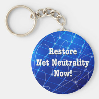 Llavero ¡Neutralidad neta del restablecimiento ahora!