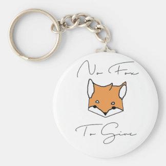 Llavero Ningún Fox a dar