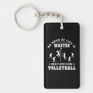 Llavero Ninguna hora perdida al jugar a voleibol