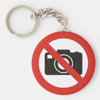 Llavero Ningunas fotos permitidas