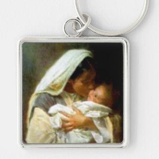 Llavero Niño bendecido Jesús del Virgen María y del niño