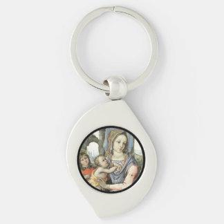 Llavero Niño San José de Madonna Cristo y ángel