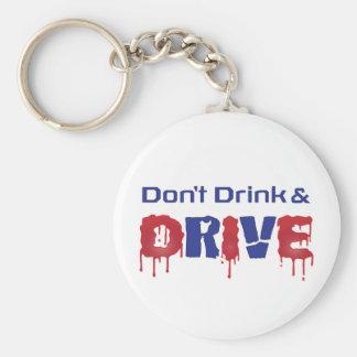 Llavero No beba y no conduzca