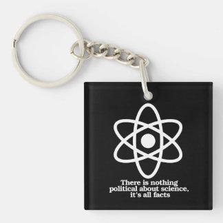 Llavero No hay nada político sobre la ciencia - ciencia