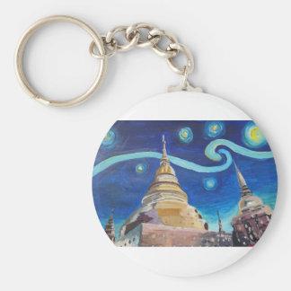 Llavero Noche estrellada en las inspiraciones de Tailandia