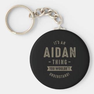 Llavero Nombre de Aidan