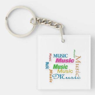 Llavero Nube 3 de MusicWord