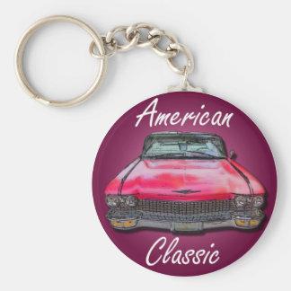 Llavero Obra clásica americana Cadillac 1960