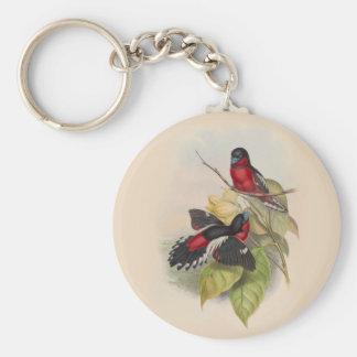 Llavero Pájaros 002 del vintage