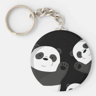 Llavero Pandas lindas