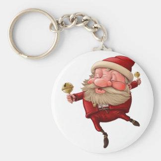 Llavero Papá Noel y el baile de la campana
