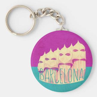 Llavero Paraíso de Barcelona Gaudi