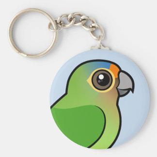 Llavero Parakeet Naranja-afrontado