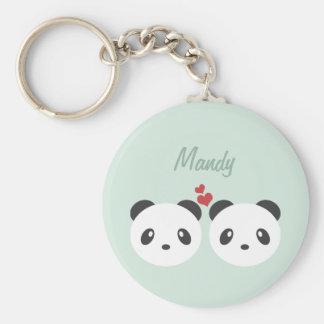 Llavero Pares de la panda