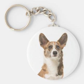 Llavero Perro de perrito del Corgi Galés de la rebeca