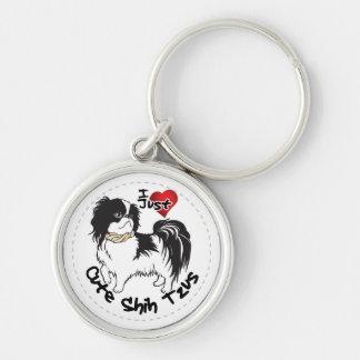 Llavero Perro divertido y lindo adorable feliz de Shih Tzu